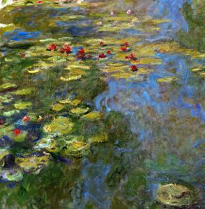 Waterlilies, 1917-1919 by Claude Monet