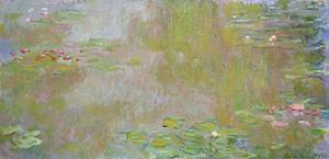 Waterlilies at Giverny, 1917 by Claude Monet