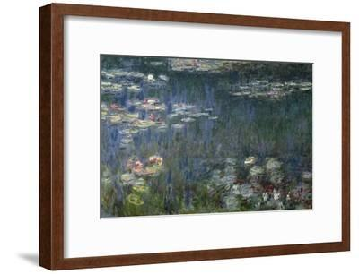 Waterlilies: Green Reflections, 1914-18 (Left Section)