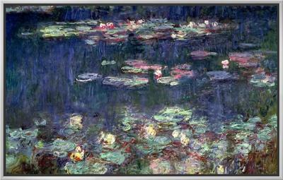 Waterlilies: Green Reflections, 1914-18 (Right Section)