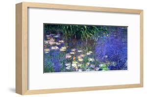 Waterlilies (Les Nympheas), Study of the Morning Water by Claude Monet