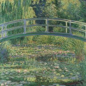 Waterlily Pond, 1899 by Claude Monet