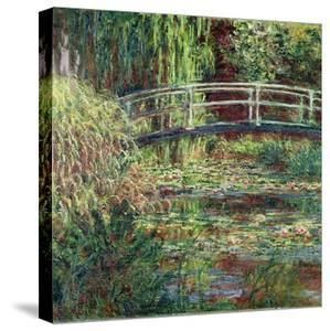Waterlily Pond, Pink Harmony (Le Bassin Aux Nymphéas, Harmonie Ros) by Claude Monet