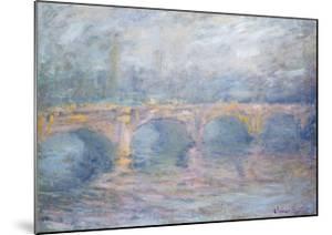 Waterloo Bridge, London, at Sunset, 1904 by Claude Monet