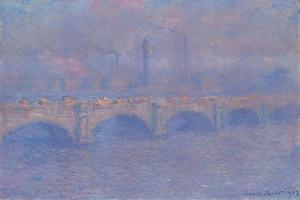 Waterloo Bridge, Sunlight Effect, 1903 by Claude Monet