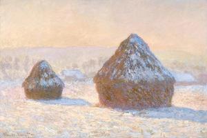Wheatstacks, 1891 by Claude Monet