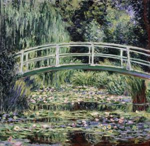 White Water Lilies, 1899 by Claude Monet