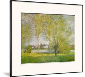 Willows of Vetheuil by Claude Monet