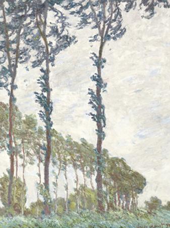 Wind Effect, Series of The Poplars 1891