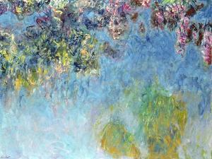 Wisteria, 1920-25 by Claude Monet