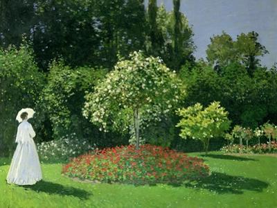 Woman in a Garden, 1867