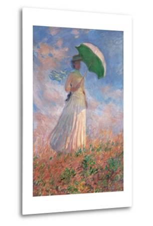 Woman with a Parasol Turned to the Right