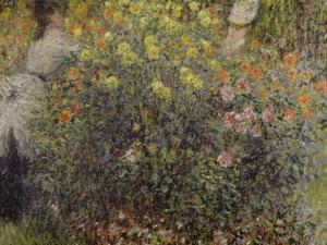 Women in the Flowers, 1875 by Claude Monet