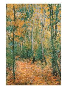 Wood Lane by Claude Monet