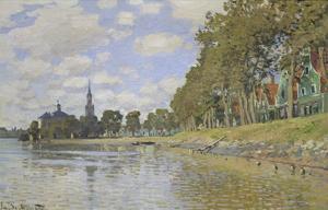 Zaandam, 1871 by Claude Monet