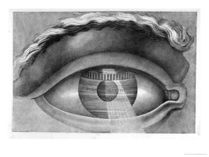 Eye Enclosing the Theatre at Besancon, France, 1847 by Claude Nicolas Ledoux