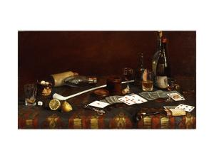 A Gentlemans Table by Claude Raguet Hirst