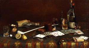 A Gentlemans Table by Claude Raguet Hirst
