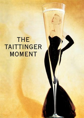 The Taittinger Moment - Champagne Advertisement featuring actress Grace Kelly by Claude Taittinger