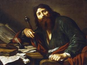 Saint Paul the Apostle, 17th Century by Claude Vignon