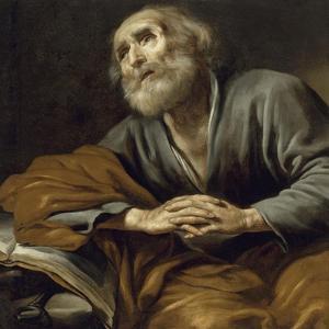 Saint Pierre repentant by Claude Vignon