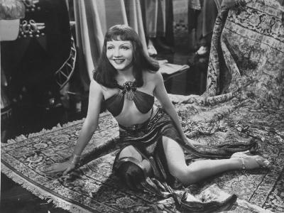 "Claudette Colbert in Title Role of Cecil B. DeMille's Film ""Cleopatra.""--Premium Photographic Print"
