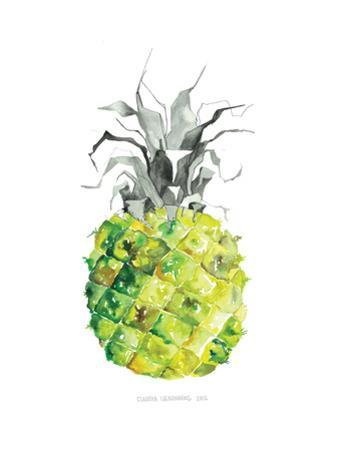 Pineapple_yellow by Claudia Libenberg