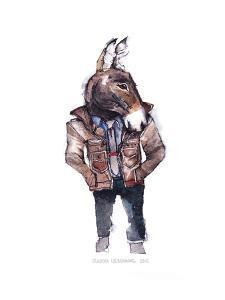 Jeffrey the Mule by Claudia Liebenberg