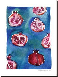 Pattern_pomegranate by Claudia Liebenberg