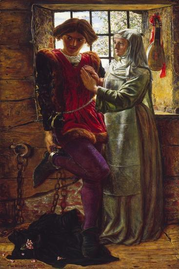 Claudio and Isabella-William Holman Hunt-Giclee Print