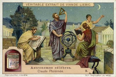 Claudius Ptolemy, Greco-Roman Astronomer and Mathematician and Geographer--Giclee Print