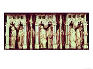 Figures of Monks on the Tomb of Philip II the Bold, Duke of Burgundy by Claus Sluter