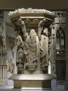 Vue du musée des Monuments français en 1994 by Claus Sluter