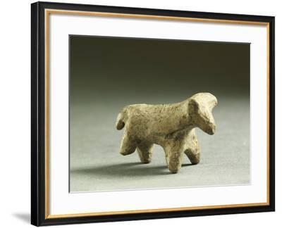 Clay Figurine of Animal, from Monte Venera, Province of Reggio Emilia, Italy--Framed Giclee Print