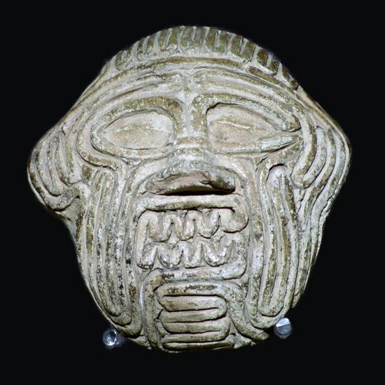Clay mask of the demon Humbaba. Artist: Unknown-Unknown-Giclee Print