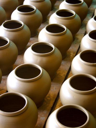 Clay Pots-John Borthwick-Photographic Print