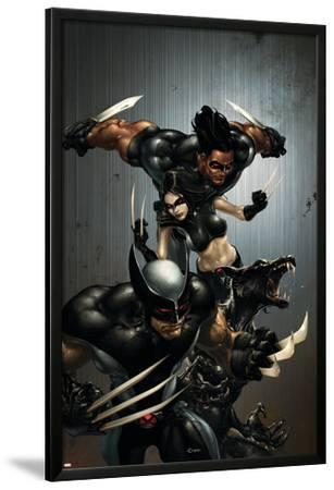 X-Force No.1 Cover: Wolverine, X-23, Wolfsbane and Warpath