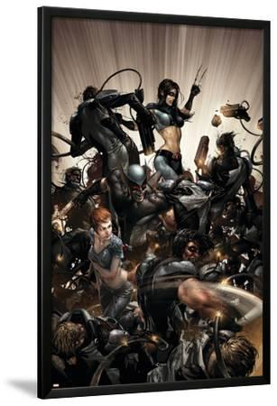 X-Force No.2 Cover: X-23, Warpath and Wolverine