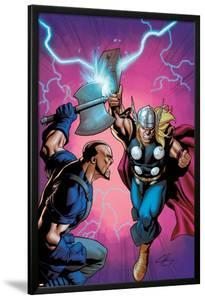 Marvel Adventures Super Heroes No.6 Cover: Thor Fighting by Clayton Henry