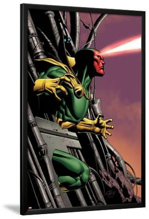 Marvel Adventures Super Heroes No.8 Cover: Vision Running