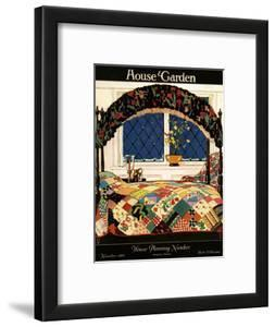 House & Garden Cover - November 1921 by Clayton Knight