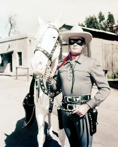 Clayton Moore, The Lone Ranger (1956)--Photo