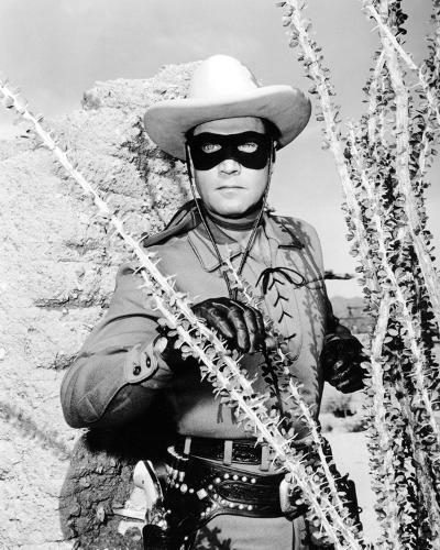 Clayton Moore - The Lone Ranger--Photo
