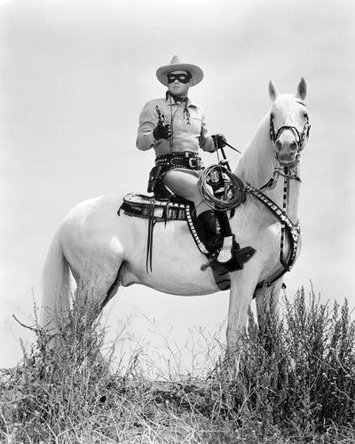 Clayton Moore - The Lone Ranger--Photo