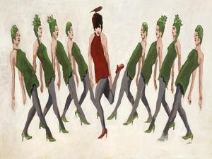9 Ladies Dancing by Clayton Rabo