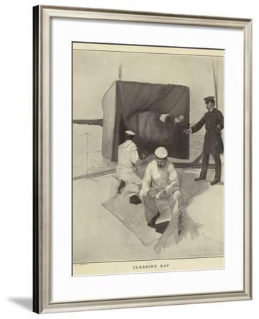 Cleaning Day--Framed Photographic Print