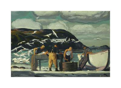 Cleaning Fish-George Wesley Bellows-Premium Giclee Print
