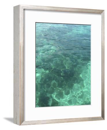 Clear Blue Tropical Sea Water