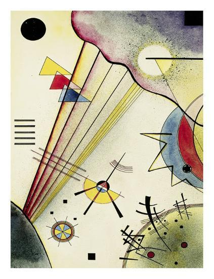 Clear Connection-Wassily Kandinsky-Art Print