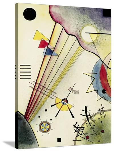 Clear Connection-Wassily Kandinsky-Stretched Canvas Print